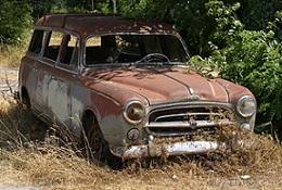 Seno automobilio pardavimas